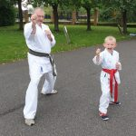 Isaac Red Belt Karate