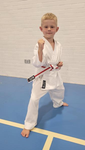 Luton Kids Karate Grading