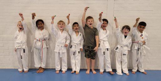 Junior Power Dragons Grading